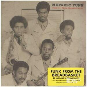 Midwest Funk-45's from Tornado Alley - CD Audio