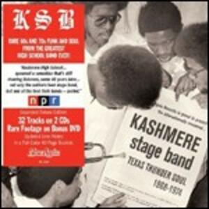 Texas Thunder Soul 1968-1974 - CD Audio + DVD di Kashmere Stage Band