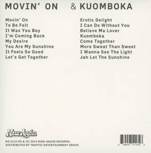 Movin' on - Kuomboka - CD Audio di Witch - 2