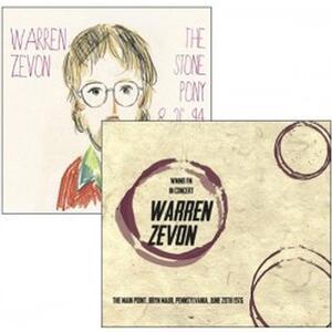 Live Broadcasts 1976 & 1994 - CD Audio di Warren Zevon
