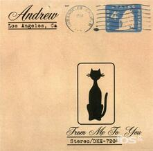 From Me to You - CD Audio di Andrew