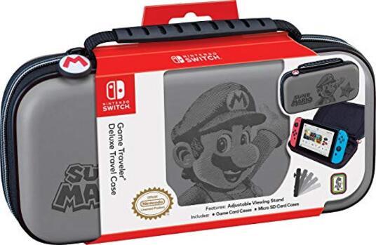Custodia Switch Super Mario Grigia - - Nintendo Switch