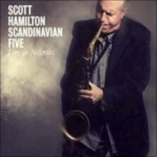 Live at Nefertiti - CD Audio + DVD di Scott Hamilton