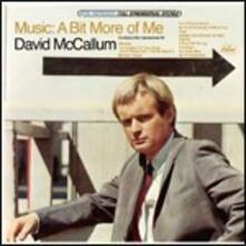 Music. A Bit More of Me - CD Audio di David McCallum