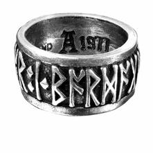 Anello Tg.30 Alchemy: Runeband