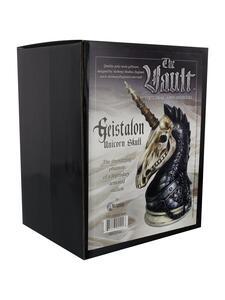 Statuetta Alchemy: Geistalon Unicorn Skull