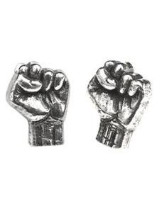 Orecchini. Rage Against The Machine Fist
