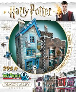 Puzzle 3D 295 Pz Wrebbit W3D-0508. Harry Potter. Diagon Alley Ollivander'S Wand Shop + Scribbulus