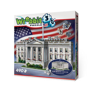Puzzle 3D White House