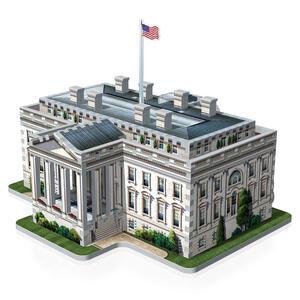 Puzzle 3D White House - 4