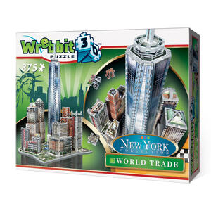 Puzzle 3D World Trade