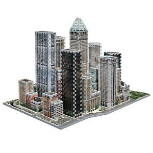 Puzzle 3D Financial - 2
