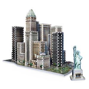 Puzzle 3D Financial - 3