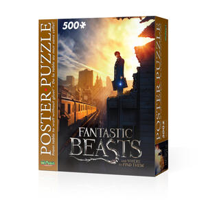 Puzzle Poster Fantastic Beasts Nyc