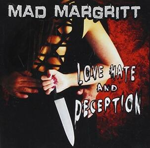 CD Love Hate and Deception Mad Margritt