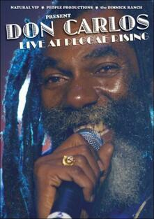 Don Carlos. Live At Reggae Rising - DVD