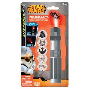 Star Wars. Torcia Con 6 Lenti Differenti Per Da Proiettare. Blisterato 1,4X5,2X9 Cm