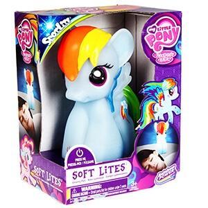 My Little Pony. Rainbow Dash. Softlite Luce Da Notte Con Funzione Auto Off 9X11X15 Cm