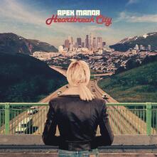 Heartbreak City (Limited Red Coloured Vinyl Edition) - Vinile LP di Apex Manor