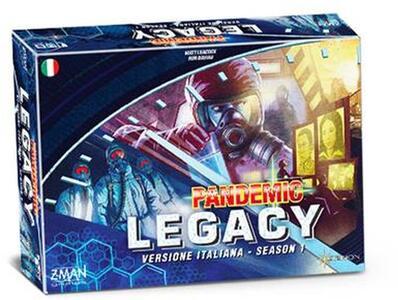 Pandemic Legacy. Scatola Blu