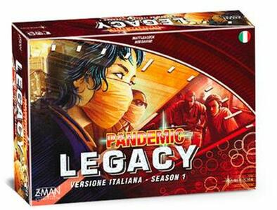 Pandemic Legacy. Scatola Rossa - 2