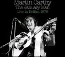 The January Man. Live in Belfast 1978 - CD Audio di Martin Carthy