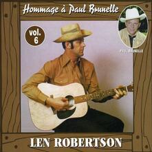 Hommage A Paul Brunelle - CD Audio di Len Robertson