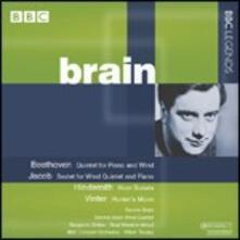 Quintetto per pianoforte e fiati / Sestetto per pianoforte e fiati - CD Audio di Ludwig van Beethoven,Gordon Jacob,Leonard Brain