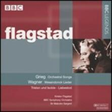 Kirsten Flagstad interpreta Grieg e Wagner - CD Audio di Edvard Grieg,Richard Wagner,Kirsten Flagstad,BBC Symphony Orchestra,Malcolm Sargent