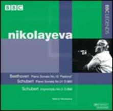 Sonata per pianoforte n.15 / Sonata per pianoforte n.21 - Improvviso D899 - CD Audio di Ludwig van Beethoven,Franz Schubert,Tatiana Nikolayeva