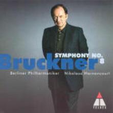 Sinfonia n.8 - CD Audio di Anton Bruckner,Nikolaus Harnoncourt,Berliner Philharmoniker