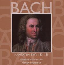 Cantate Sacre vol.55: BWV183, BWV184, BWV185 - CD Audio di Johann Sebastian Bach,Nikolaus Harnoncourt,Gustav Leonhardt,Concentus Musicus Wien