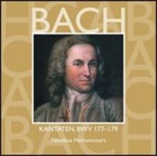 Cantate Sacre vol.53: BWV177, BWV178, BWV179 - CD Audio di Johann Sebastian Bach,Nikolaus Harnoncourt,Concentus Musicus Wien