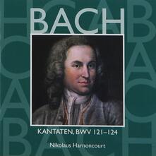 Cantate Sacre vol.38: BWV121, BWV122, BWV123, BWV124 - CD Audio di Johann Sebastian Bach,Gustav Leonhardt,Concentus Musicus Wien