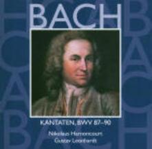 Cantate Sacre vol.27: BWV87, BWV88, BWV89, BWV90 - CD Audio di Johann Sebastian Bach,Nikolaus Harnoncourt,Gustav Leonhardt,Concentus Musicus Wien