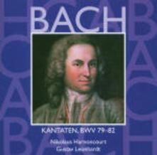 Cantate Sacre vol.25: BWV79, BWV80, BWV81, BWV82 - CD Audio di Johann Sebastian Bach,Nikolaus Harnoncourt,Gustav Leonhardt,Concentus Musicus Wien
