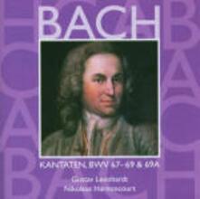 Cantate Sacre vol.21: BWV67, BWV68, BWV69 - CD Audio di Johann Sebastian Bach,Nikolaus Harnoncourt,Gustav Leonhardt,Concentus Musicus Wien