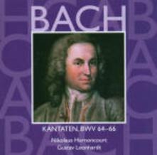 Cantate Sacre vol.20: BWV64, BWV65, BWV66 - CD Audio di Johann Sebastian Bach,Nikolaus Harnoncourt,Gustav Leonhardt,Concentus Musicus Wien