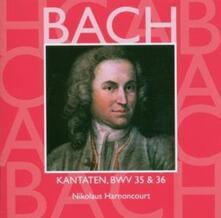Cantate Sacre vol.12: BWV35, BWV36 - CD Audio di Johann Sebastian Bach,Nikolaus Harnoncourt,Concentus Musicus Wien