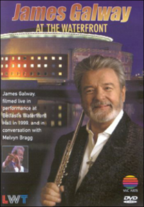 Film James Galway. At the Waterfront Hall in1999