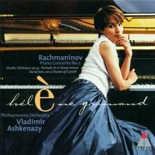 Concerto per pianoforte n.2 - Etude-Tableau n.1 - Variazioni su un tema di Corelli - CD Audio di Sergej Vasilevich Rachmaninov,Vladimir Ashkenazy,Hélène Grimaud,Philharmonia Orchestra