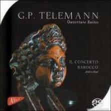 Concerto barocco - SuperAudio CD di Georg Philipp Telemann