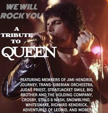 We Will Rock You. A Tribute to Queen - CD Audio