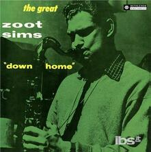 Down Home - Vinile LP di Zoot Sims