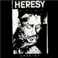 1985-1987 - Vinile LP di Heresy