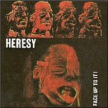 Face Up to it - Vinile LP di Heresy