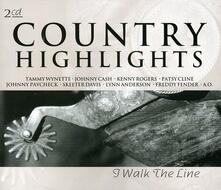 Country Highlights - CD Audio