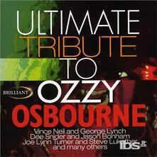 Ultimate Tribute To Ozzy Osbourne - CD Audio