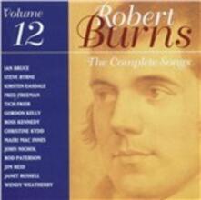 The Complete Songs vol.12 - CD Audio di Robert Burns