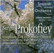 Sinfonia n.1 - Concerto per violino - SuperAudio CD ibrido di Sergej Sergeevic Prokofiev
